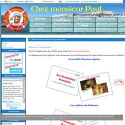 La révolution française (diaporamas) - Chez monsieur Paul