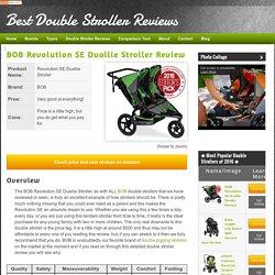 BOB FLEX Duallie Stroller