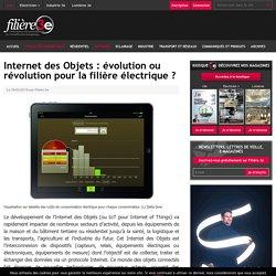 Internet des Objets : évolution ou révolution pour la filière électrique ? - Filière 3e