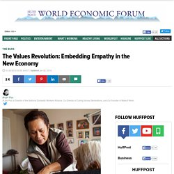 The Values Revolution: Embedding Empathy in the New Economy