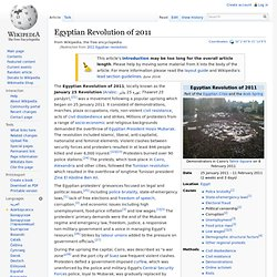 2011 Egyptian revolution