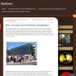 2012 : en route vers la révolution énergétique ?