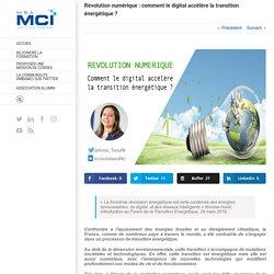 Révolution numérique : comment le digital accélère la transition énergétique