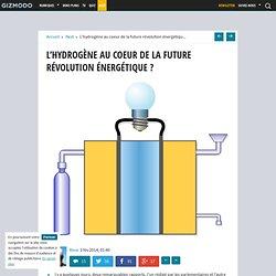 L'hydrogène au coeur de la future révolution énergétique ?