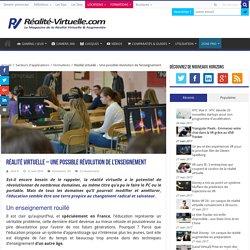 Réalité virtuelle - Une possible révolution de l'enseignement
