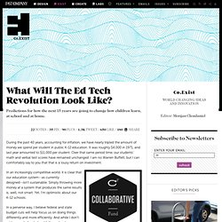What Will The Ed Tech Revolution Look Like?