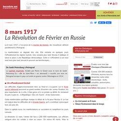 8 mars 1917 - La Révolution de Février en Russie - Herodote.net
