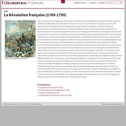 La Révolution française (1789-1799)