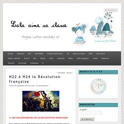 H22 à H24 la Révolution française