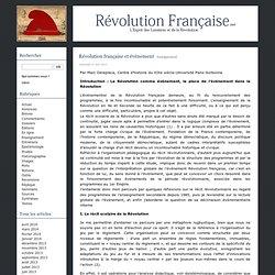 Révolution française et événement