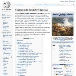 Guerres de la Révolution française
