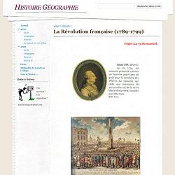 La Révolution française (1789-1799) - Histoire Géographie
