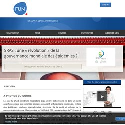 About SRAS : une « révolution » de la gouvernance mondiale des épidémies ?