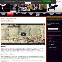 Histoire de Poitiers : de l'antiquité à la révolution - Une ville médiévale et historique.