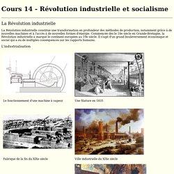 Révolution industrielle et socialisme