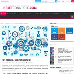 L'IoT : une nouvelle révolution industrielle