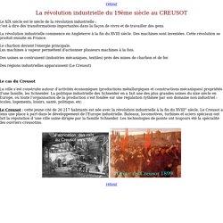 La révolution industrielle du 19ème siècle au CREUSOT