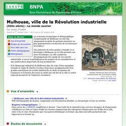 Mulhouse, ville de la Révolution industrielle (XIXe siècle) : Le monde ouvrier