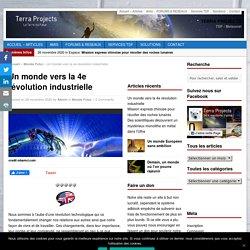 Un monde vers la 4e révolution industrielle
