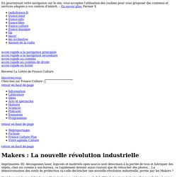 Makers : La nouvelle révolution industrielle , de Chris Anderson