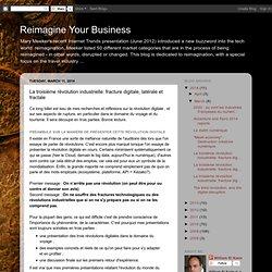 Your Business: La troisième révolution industrielle: fracture digitale, latérale et fractale