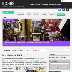 Vers une économie open source: Une nouvelle révolution industrielle