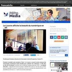 Le Louvre affiche la beauté du numérique en …8K