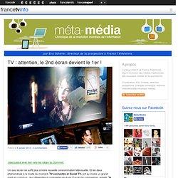 TV : le 2nd écran devient le 1er !