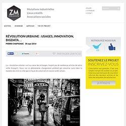 Révolution urbaine : usages, innovation, bigdata…