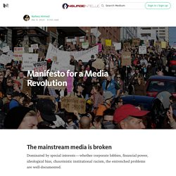 Manifesto for a Media Revolution — INSURGE intelligence