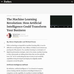 The Machine Learning Revolution: How Artificial Intelligence Could Transform Your Business