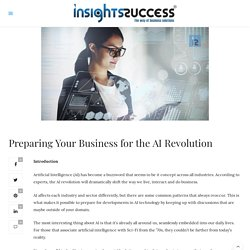 Preparing Your Business for the AI Revolution