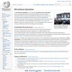 Révolution islandaise
