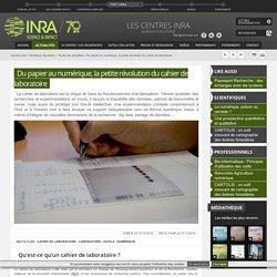 Du papier au numérique, la petite révolution du cahier de laboratoire
