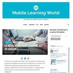La révolution Peer Learning est en marche !
