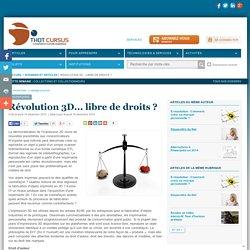 Révolution 3D... libre de droits ?