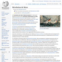 Révolution de mars