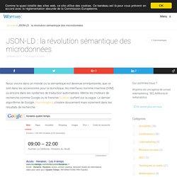JSON-LD : la révolution sémantique des microdonnées - Woptimo