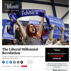 The Political Revolution of the Millennial Generation
