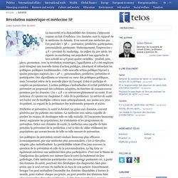 Révolution numérique et médecine 5P
