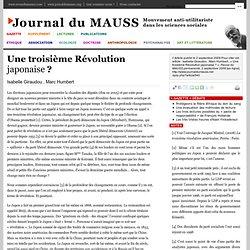 Une troisième Révolution japonaise?