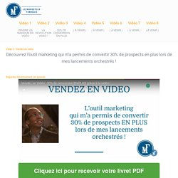La Révolution Vidéo - Comment attirer une foule de prospects potentiels sur votre site web et vendre un maximum en vidéo ! — La Révolution Vidéo