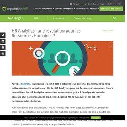 HR Analytics : une révolution pour les Ressources Humaines ?