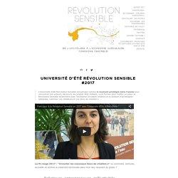 Révolution Sensible [version bêta]