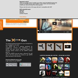 The XAPPR Gun - A true revolution in smartphone gaming!