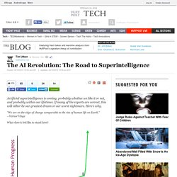 The AI Revolution: The Road to Superintelligence