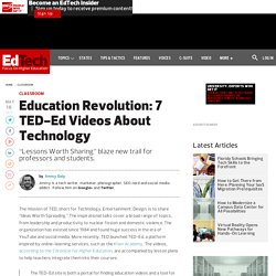 Education Revolution: 7 TED-Ed Videos About Technology