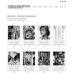 Muralism Identity & Revolution Gallery Exhibit