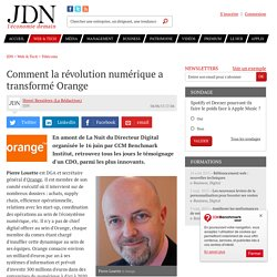 Comment la révolution numérique a transformé Orange