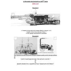 La Révolution des transports au XIXème siècle